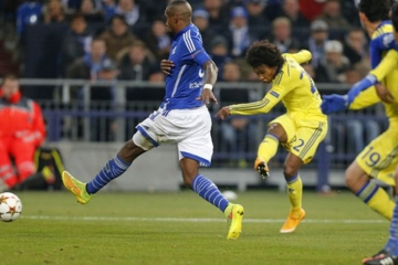 Clip luot tran thu 5 vong bang Cup <b style='background-color:Yellow'>C1</b> - Schalke 04 vs Chelsea