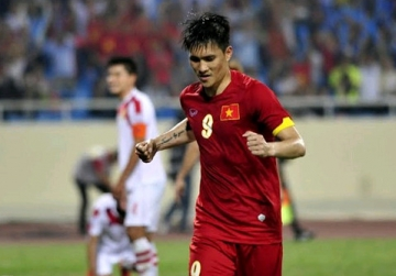 <b style='background-color:Yellow'>Le Cong Vinh</b> tien gan ky luc ghi ban tai AFF Cup