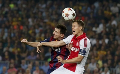 02h45 ngay 6/11, <b style='background-color:Yellow'>Ajax</b> vs Barca: Chua thoat khung hoang!
