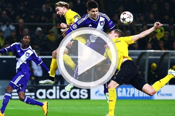 Clip luot tran thu 6 vong bang Cup <b style='background-color:Yellow'>C1</b> - Borussia Dortmund vs Anderlecht