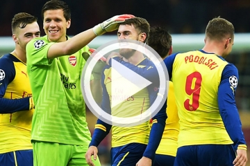 Clip luot tran thu 6 vong bang Cup <b style='background-color:Yellow'>C1</b> - Galatasaray vs Arsenal