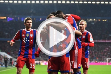 Clip luot tran thu 6 vong bang Cup <b style='background-color:Yellow'>C1</b> - Bayern Munich vs CSKA Moscow
