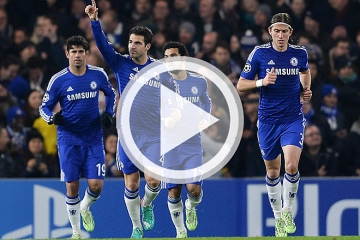 Clip luot tran thu 6 vong bang Cup <b style='background-color:Yellow'>C1</b> - Chelsea vs Sporting Lisbon