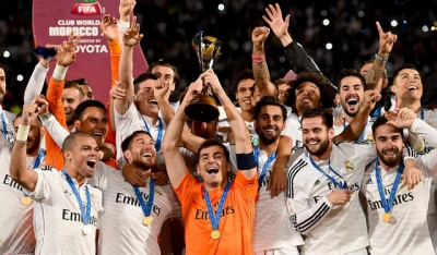 <b style='background-color:Yellow'>FIFA Club World Cup</b>: Real Madrid len dinh the gioi