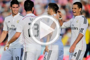 Clip <b style='background-color:Yellow'>luot ve vong 1/16</b> Cup nha Vua -  Real Madrid vs UD Cornella