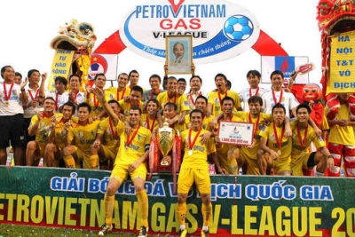 Ha Noi T&T: Co hoi nao o <b style='background-color:Yellow'>AFC Champions League</b> 2014