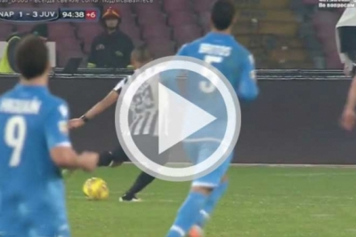 Clip <b style='background-color:Yellow'>vong 18</b> Serie A - Napoli vs Juventus