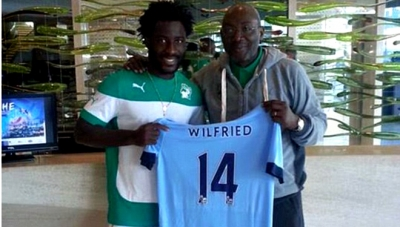 <b style='background-color:Yellow'>Wilfried Bony</b> mac ao so 14 o Man City