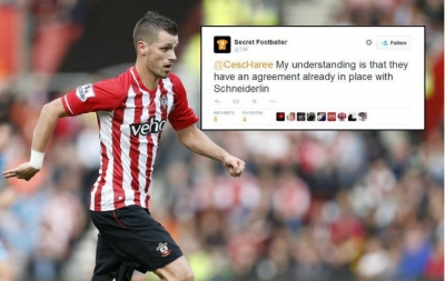 Arsenal dat duoc thoa thuan chieu mo <b style='background-color:Yellow'>Morgan Schneiderlin</b>