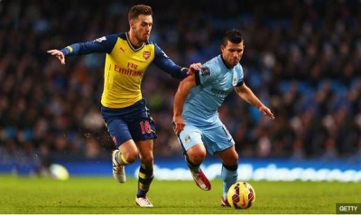 Aaron <b style='background-color:Yellow'>Ramsey</b> an tuong voi chien thang hoan hao truoc Man City