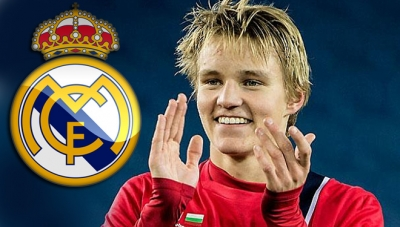 Real Madrid da co <b style='background-color:Yellow'>Odegaard</b>