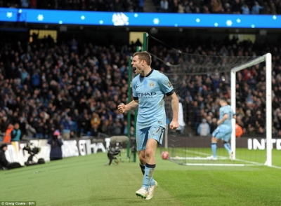 Toa sang o FA Cup, tuong lai cua <b style='background-color:Yellow'>James Milner</b> o Man City duoc dam bao?