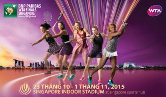 <b style='background-color:Yellow'>WTA Finals</b> - Duong den Singapore 2015