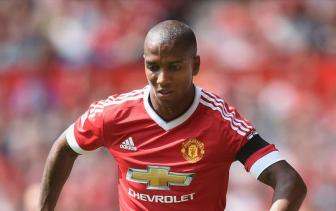 <b style='background-color:Yellow'>Ashley Young</b> lo tran gap Everton do chan thuong