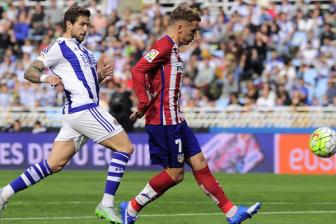 Video vong 8 La Liga - <b style='background-color:Yellow'>Real Sociedad</b> 0-2 Atletico Madrid