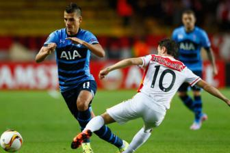 Video luot 2 vong bang Europa League - AS Monaco 1-1 Tottenham