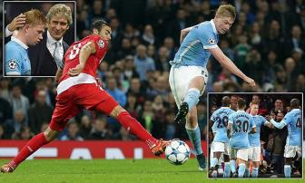 <b style='background-color:Yellow'>Manchester City</b> 2-1 Sevilla: Hop dong ky luc giai cuu nha giau
