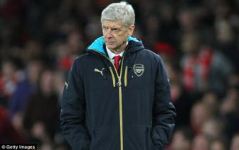 <b style='background-color:Yellow'>HLV Arsene Wenger</b> 'tiec hui hui' vi tuot mat Martial