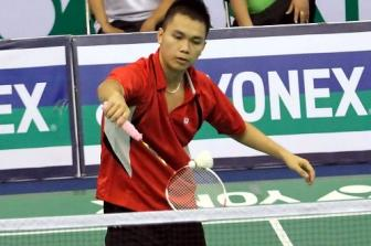 <b style='background-color:Yellow'>Pham Cao Cuong</b> dung buoc o ban ket Giai Vietnam International Series 2015