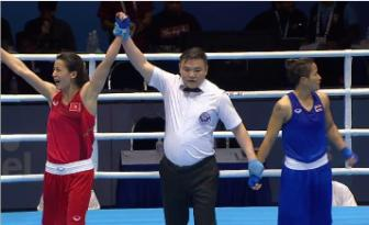 <b style='background-color:Yellow'>Vo si</b> Le Thi Bang tu tin huong den vong loai Olympic 2016