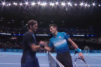 Video <b style='background-color:Yellow'>ATP World Tour</b> Finals 2015: Federer vs Djokovic