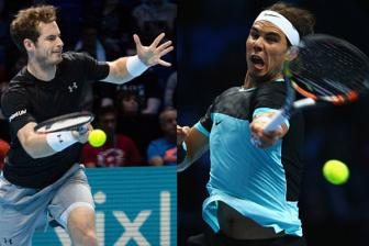 Video <b style='background-color:Yellow'>ATP World Tour</b> Finals 2015: Nadal vs Murray
