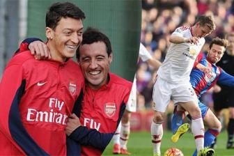 Ozil, <b style='background-color:Yellow'>Cazorla</b> 'can' ca... doi hinh Man United