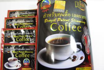 Ca phe <b style='background-color:Yellow'>giam can</b> 'Brazil Potent Slimming Coffee' co chua chat sibutramine