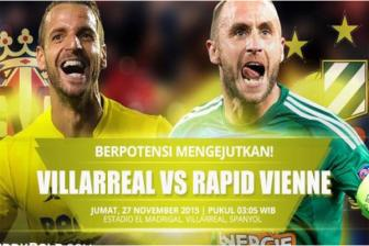 <b style='background-color:Yellow'>Villarreal</b> vs Rapid Wien, 03h05 ngay 27/11: Tra no cuop ngoi dau