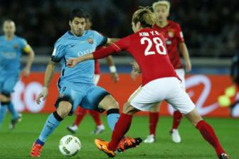 Video BK <b style='background-color:Yellow'>FIFA Club World Cup</b>: Barcelona 3-0 Guangzhou