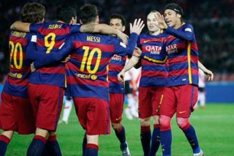 Video chung ket <b style='background-color:Yellow'>FIFA Club World Cup</b>: River Plate 0-3 Barcelona
