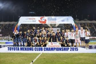 <b style='background-color:Yellow'>Buriram United</b> vo dich Toyota Cup 2015