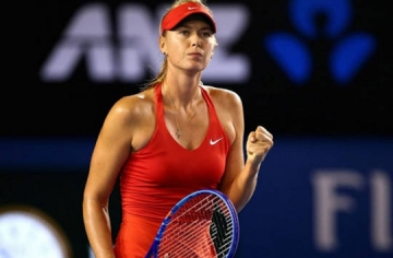 <b style='background-color:Yellow'>Maria Sharapova</b> dat muc tieu danh bai Serena Williams