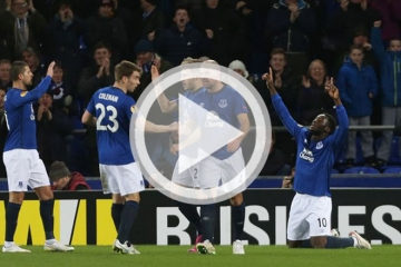 Clip <b style='background-color:Yellow'>luot ve vong 1/16</b> Europa League 2014-2015 - Everton vs Young Boys