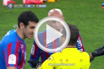 Clip vong 27 Ligue 1 - Marseille vs Stade Malherbe <b style='background-color:Yellow'>Caen</b>