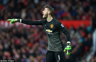 <b style='background-color:Yellow'>David de Gea</b> se tiep tuc o lai Man United