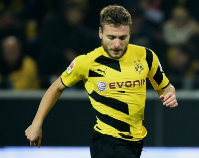 Liverpool len ke hoach chieu mo <b style='background-color:Yellow'>Ciro Immobile</b>