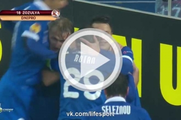 Clip luot di Vong 1/8 Europa League - Dnipro vs <b style='background-color:Yellow'>Ajax</b>
