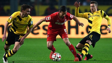 <b style='background-color:Yellow'>Dortmund</b> 0-0 Cologne: Chia diem that vong