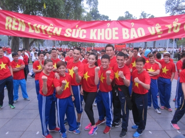An tuong ngay chay Olympic vi suc khoe toan dan 2015