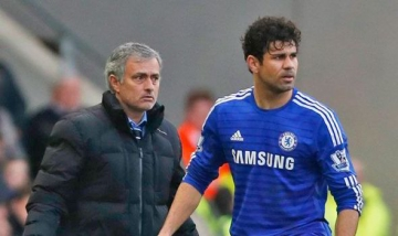 Jose Mourinho <b style='background-color:Yellow'>binh than</b> voi chan thuong cua Diego Costa