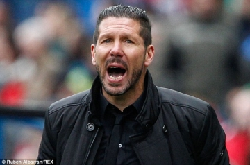 <b style='background-color:Yellow'>Diego Simeone</b> o lai Atletico Madrid den nam 2020