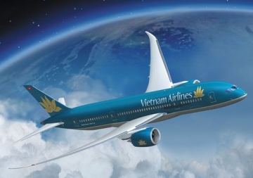 May bay <b style='background-color:Yellow'>Vietnam Airlines</b> gap su co lien lac voi khong luu o Trung Quoc