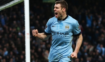 Roma lien he mua <b style='background-color:Yellow'>James Milner</b>