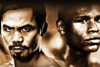 Sap dien ra <b style='background-color:Yellow'>sieu kinh dien</b> Boxing - Floyd Mayweather vs Manny Pacquiao