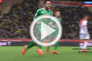 Clip vong 31 Ligue 1 - AS Monaco vs <b style='background-color:Yellow'>Saint Etienne</b>