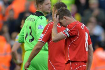 <b style='background-color:Yellow'>Liverpool</b> 1-3 C.Palace: Dem chia tay trong nuoc mat cua Gerrard