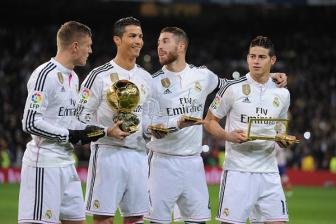 <b style='background-color:Yellow'>Real Madrid</b> dung thu hai the gioi ve tra luong cao