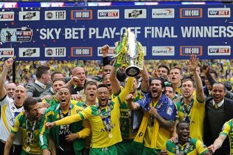 Thang <b style='background-color:Yellow'>play-off</b>, Norwich chinh thuc len Premier League
