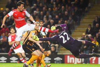<b style='background-color:Yellow'>Hull City</b> 1-3 Arsenal - Clip vong 35 ngoai hang Anh